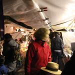 Zille Weihnachtsmarkt - Lakritzstand
