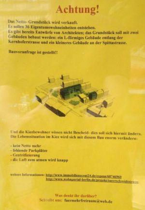 Aushang Bauprokjekt Türrschmidtstr. 44