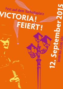 Victoria feiert Flyer 2015 vorn